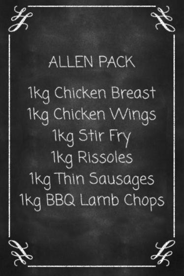 Lorn Butcher online Allan Meat Pack