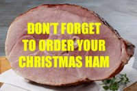Christmas Ham on the Bone